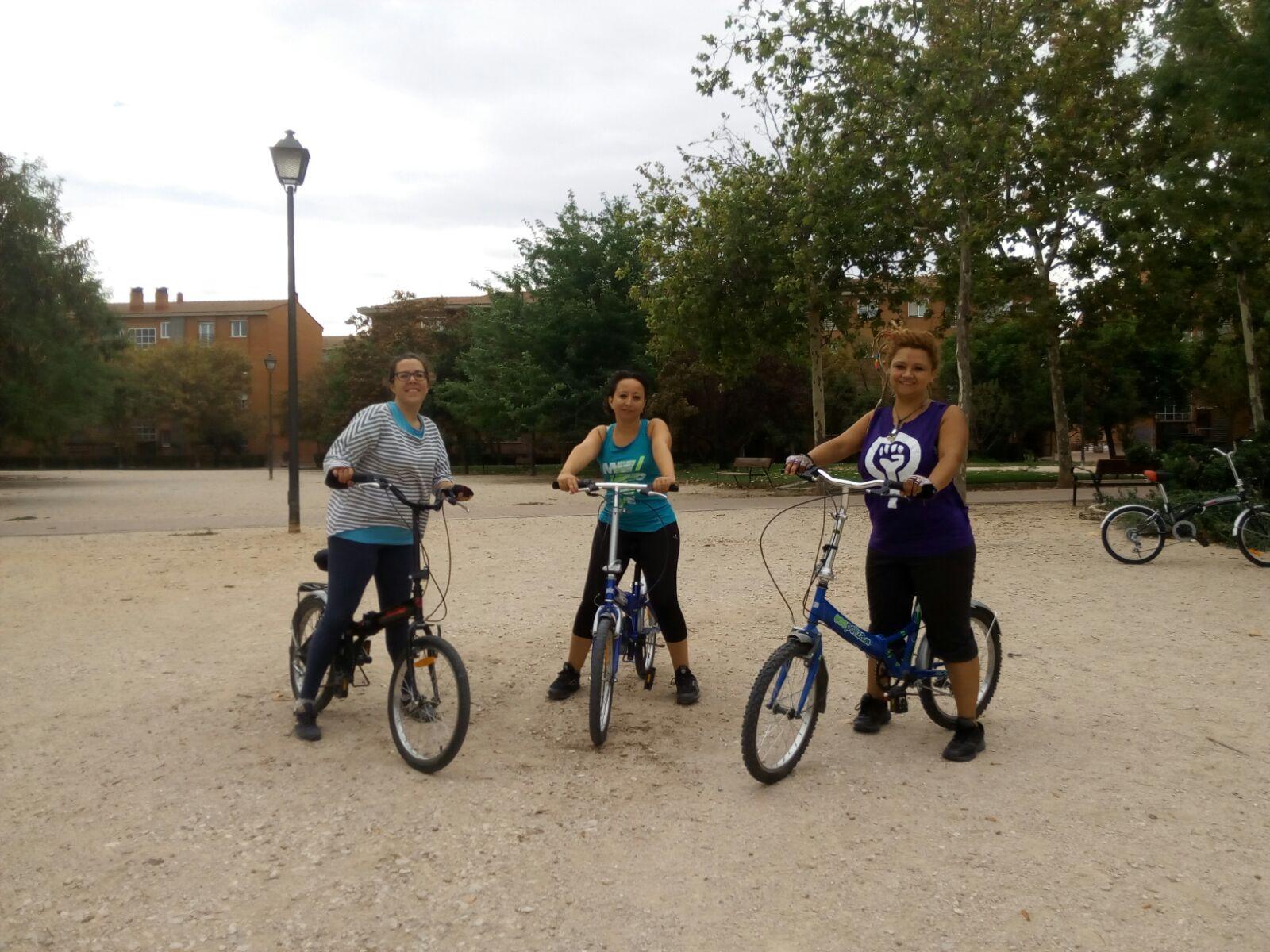 cursos para aprender a montar en bicicleta adultos
