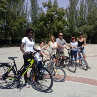 Aprende con nosotros a montar en bicicleta