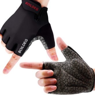 guantes ciclismo medio dedo