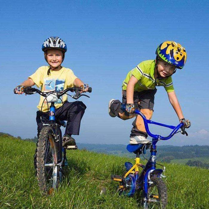 enseña a tu hijo a montar en bici